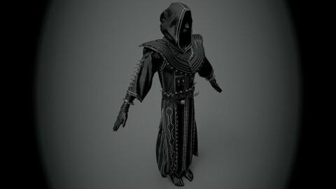 Dark Mantle with spikes