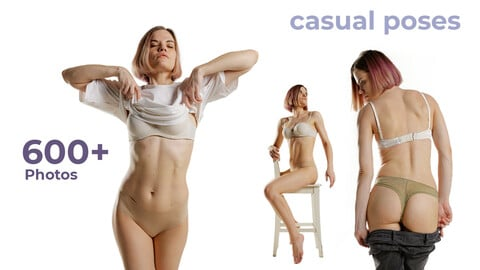 Casual Women Poses - References For Artists