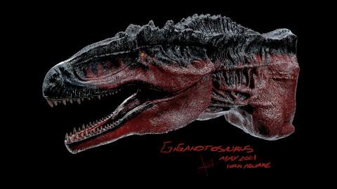 Giganotosaurus For Print! Full Hd !