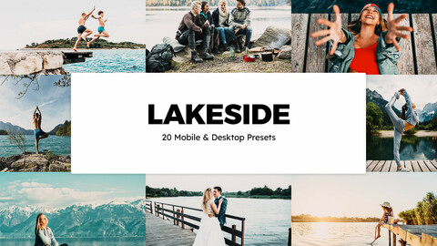 20 Lakeside LUTs and Lightroom Presets