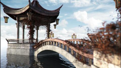 Oriental Tranquility Awakening Iray Addon