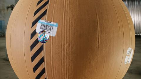 PBR - CARDBOARD - 4K MATERIAL
