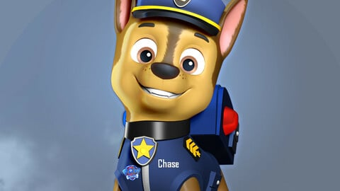Chase - Paw Patrol The Movie