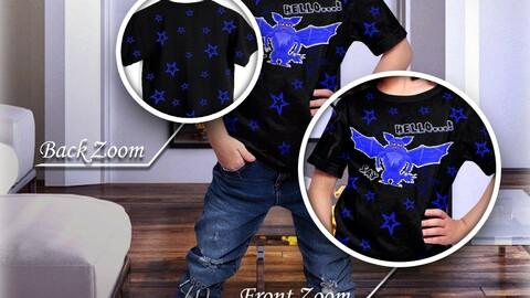 Bat Cute (T-Shirt Character)