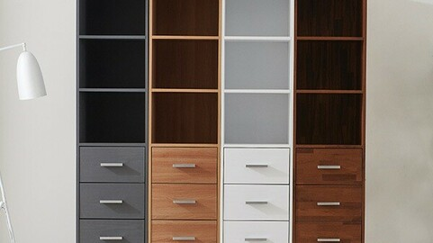 Molly 400 7 tier crevice chest of drawers