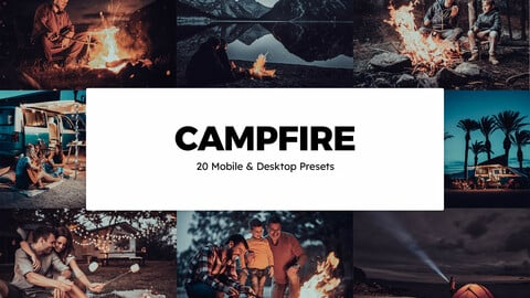 20 Campfire LUTs and Lightroom Presets