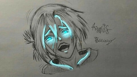 Annie from attack on titan, fanart