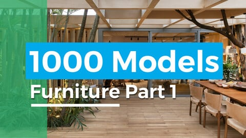 1000 models furniture part 1