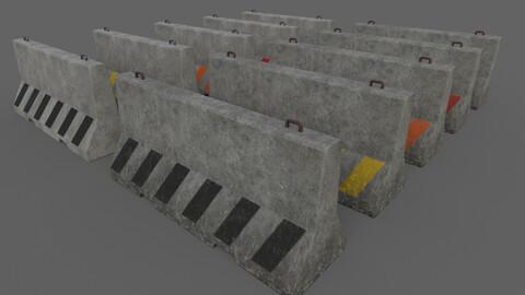 PBR Concrete Barrier V4