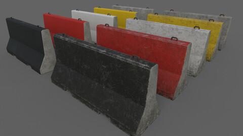 PBR Concrete Barrier V5