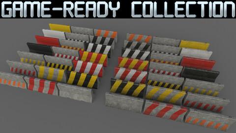 PBR Concrete Barrier - Collection