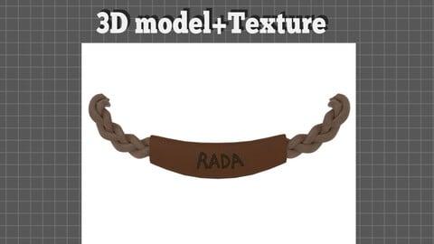 Vintage Shelf Handle - 3D model