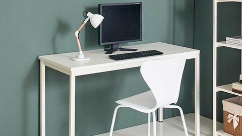 iK iron computer desk (1200mm)