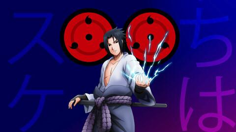 Sasuke Uchiha PSD
