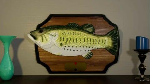 Rigged Singing Fish