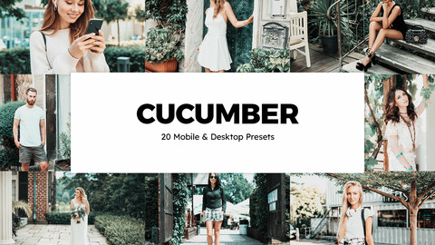 20 Cucumber LUTs and Lightroom Presets