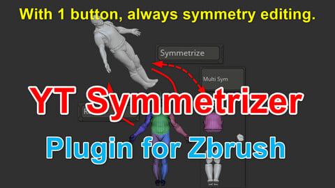 YT Symmetrizer (Plugin for Zbrush)