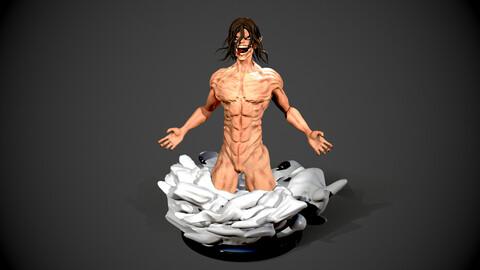 Eren Yeager 3d print model