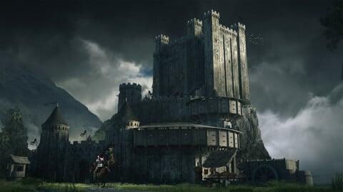 Basic Medieval Castle Pack
