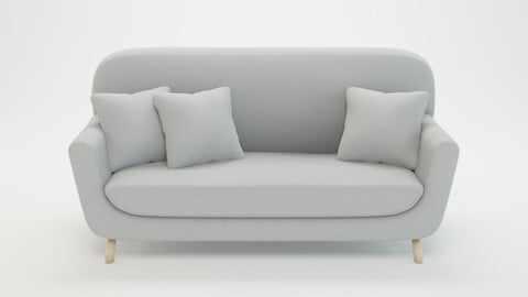 Retro Sofa - PBR