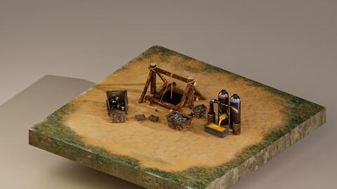 Iron Mine Level 1 3D Model