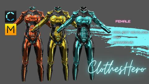Female Ski-Fi suit.
