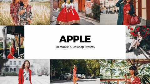 20 Apple LUTs and Lightroom Presets