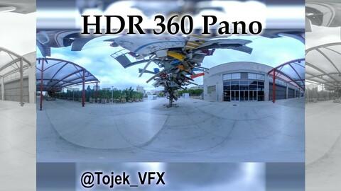 HDR 360 Panorama Little Tokyo 64 - DTLA - Geffen Contemporary at MOCA