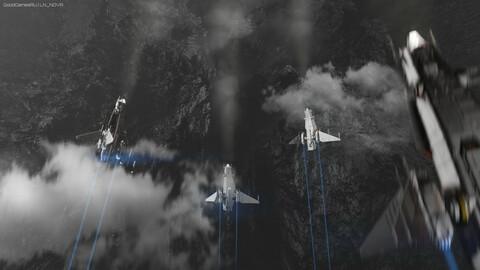 Corsairs in orbit