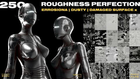 250 ROUGHNESS PERFECTION : ERROSIONA | DUSTY | DAMAGED SURFACE