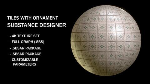 Tile Wall Substance Designer Material