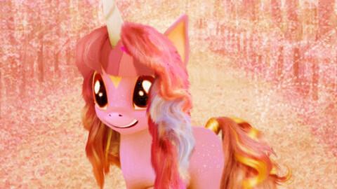 The little pink unicorn