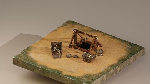 Gold Mine Level 1 3D Model