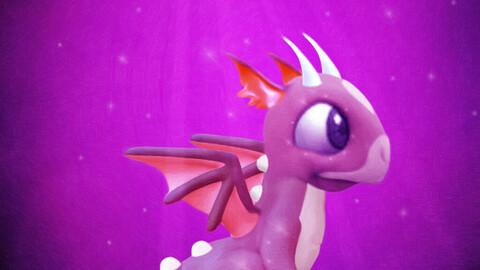 The little purple dragon