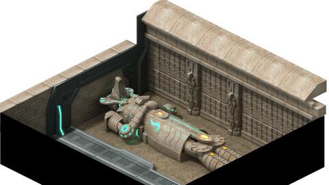 Egypt - ruins - graves 01