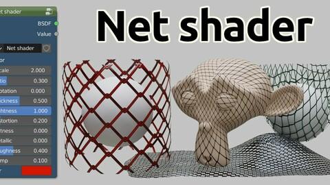 Net shader for Blender