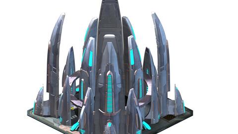 Mechanical construction - spaceship maintenance