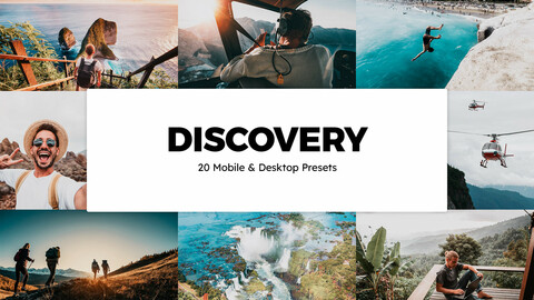 20 Discovery LUTs and Lightroom Presets