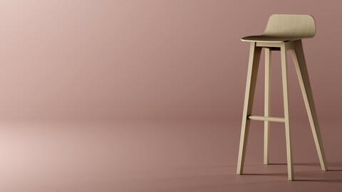 Bar chair - MORPH By Zeitraum - Replica 3D model