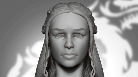 Daenerys Ref Sculpt