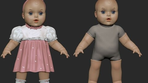 Doll Body+Dress