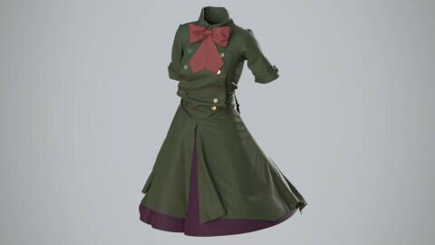 Japanese military dress