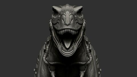 Battle Rex Sculpt
