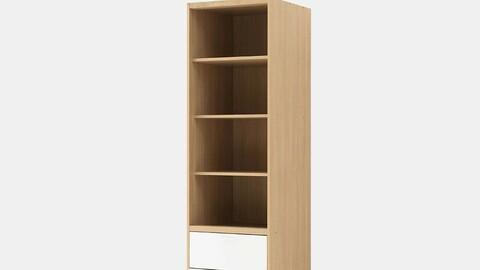 Spacer Sliding Wardrobe 600 Drawer Shelf Wardrobe