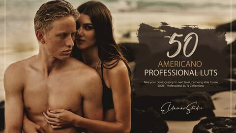 50 Americano LUTs and Presets Pack