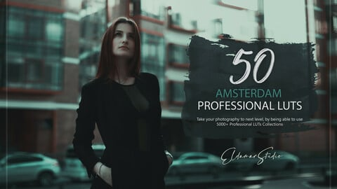 50 Amsterdam LUTs and Presets Pack