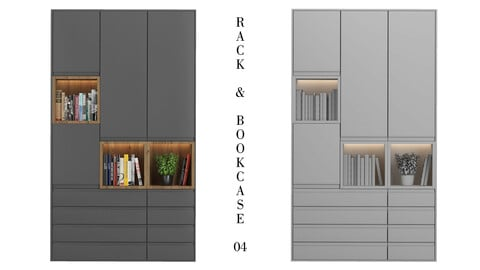 IKEA Rack and Bookcase 04