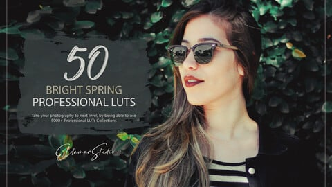 50 Bright Spring LUTs and Presets Pack