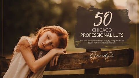 50 Chicago LUTs and Presets Pack