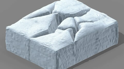 Planet - Ice Cliff 02